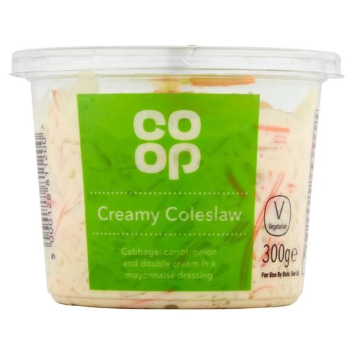 Picture of Co-op Creamy Coleslaw 300g