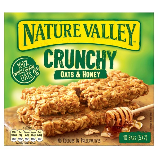 Picture of Nature Valley Crunchy Oats & Honey Bars 5 x 42g (210g)