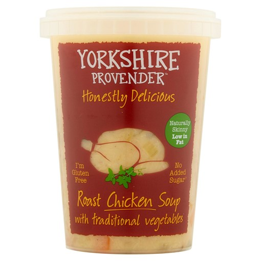 Picture of Yorkshire Provender Roast Chicken Soup with Traditional Vegetables 600g