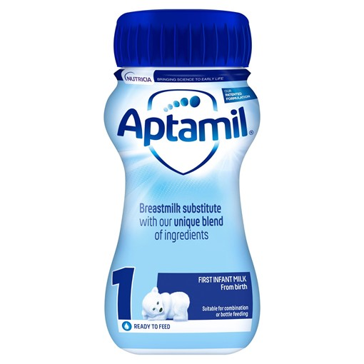 Picture of Aptamil 1 First Baby Milk Formula From Birth 200ml