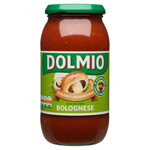 Picture of Dolmio Bolognese Chunky Mushroom Pasta Sauce 500g