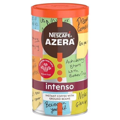 Picture of Nescafé Azera Intenso Instant Coffee with Ground Beans 100g