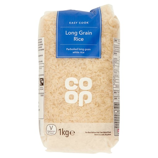 Picture of Co Op Easy Cook Long Grain Rice 1kg