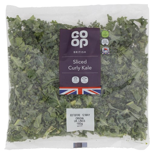 Picture of Co-op British Sliced Curly Kale