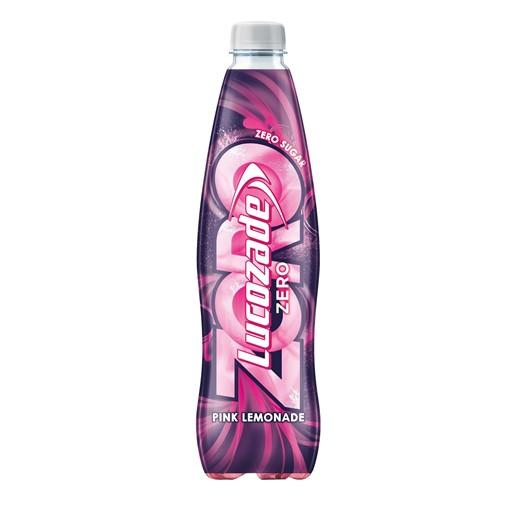 Picture of Lucozade Zero Pink Lemonade 900ml
