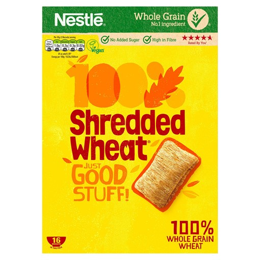Picture of NESTLE SHREDDED WHEAT Cereal 16s Box