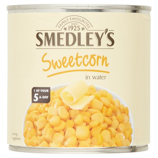 Picture of Smedley's Sweetcorn in Water 326g