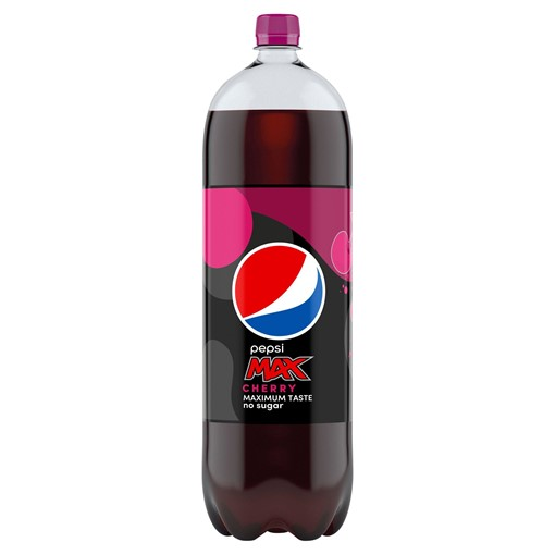 Picture of Pepsi Max Cherry Cola 2 Litres