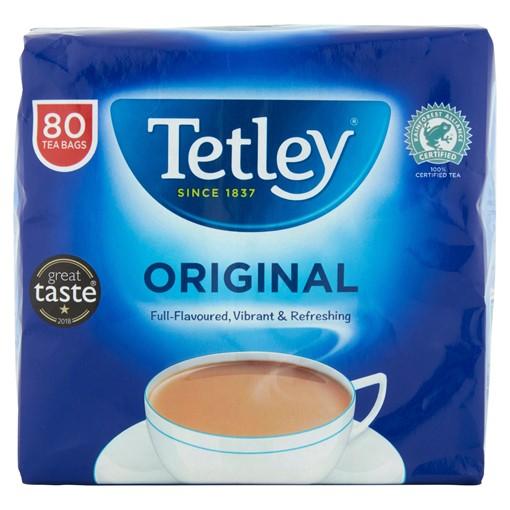 Picture of Tetley Original Tea Bags x80