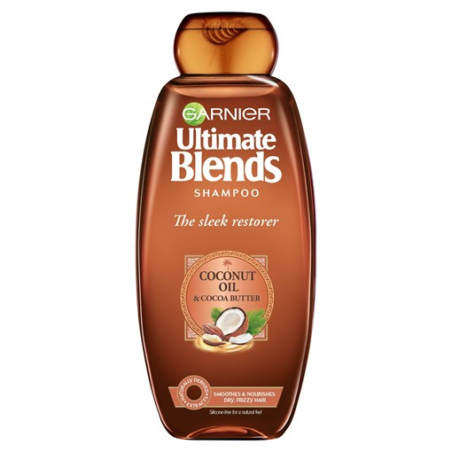 Picture of Garnier Ultimate Blends Coconut Oil Frizzy Hair Shampoo 360ml