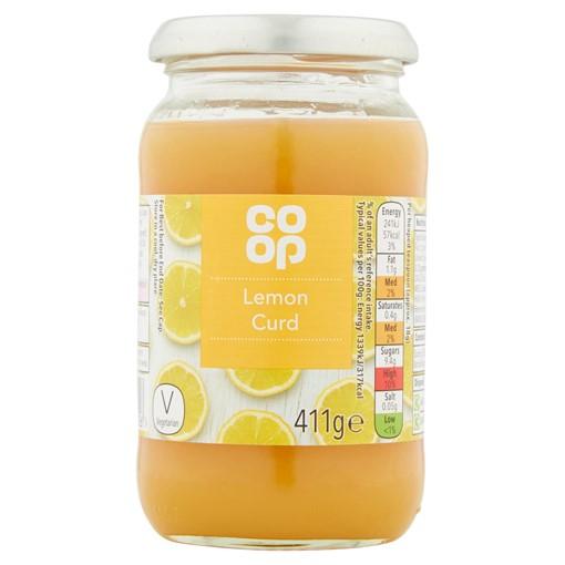 Picture of Co-op Lemon Curd 411g