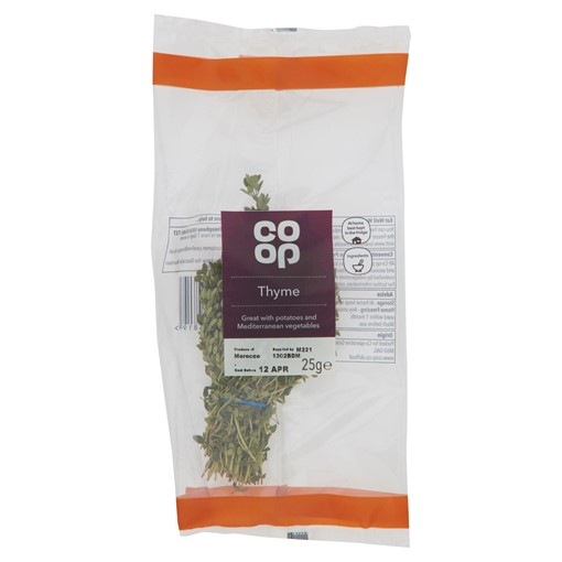 Picture of Co-op Thyme 25g