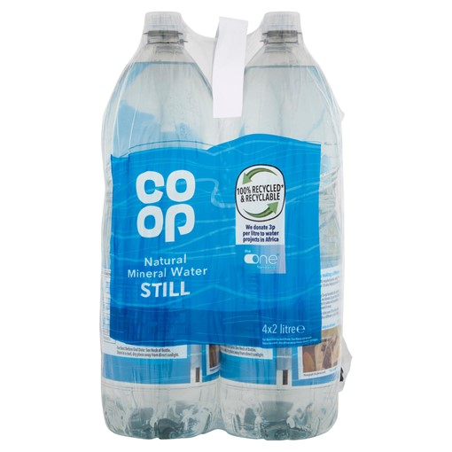 Picture of Co Op Natural Mineral Water Still 4 x 2 Litre