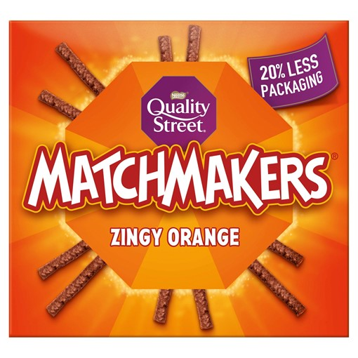 Picture of Quality Street Zingy Orange Matchmakers 120g
