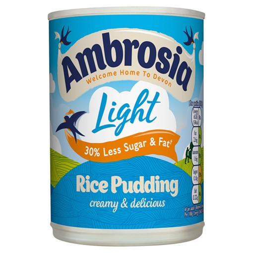 Picture of Ambrosia Light Rice Pudding 400g