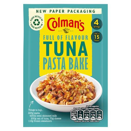 Picture of Colman's Tuna Pasta Bake Recipe Mix 44g