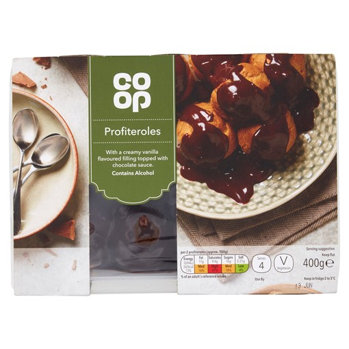 Picture of Co-op Profiteroles 400g