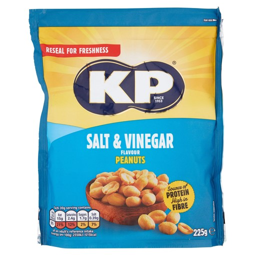 Picture of KP Salt & Vinegar Peanuts 225g