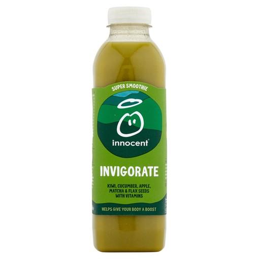 Picture of innocent Super Smoothie Invigorate, Kiwi & Cucumber Juice with Vitamins 750ml