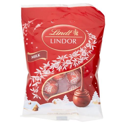 Picture of Lindt Lindor Milk Mini Truffles 80g