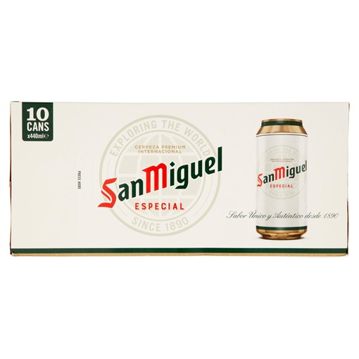 Picture of San Miguel Premium Lager Beer 10 x 440ml