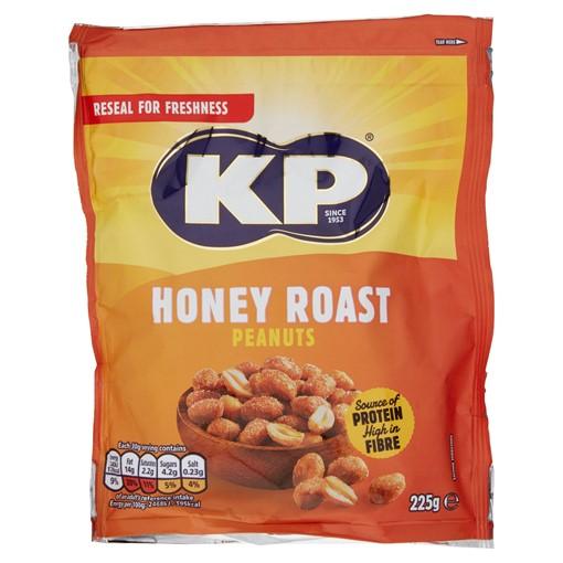 Picture of KP Honey Roast Peanuts 225g
