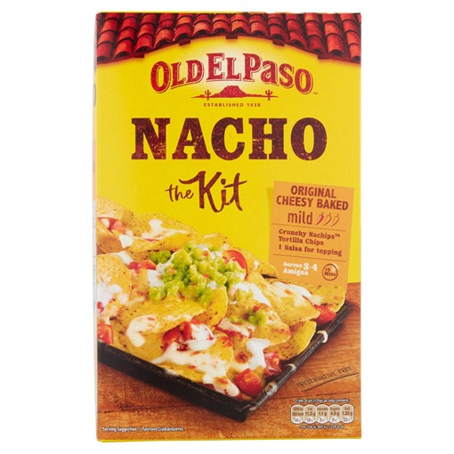 Picture of Old El Paso Original Cheesy Baked Nacho Kit 505g
