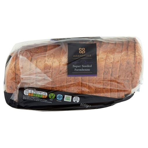 Picture of Co-op Irresistible Super Seeded Farmhouse 800g