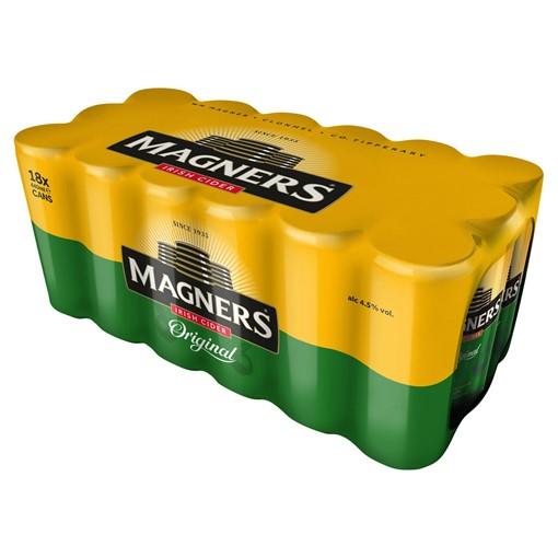 Picture of Magners Original Apple Irish Cider 18 x 440ml