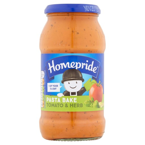 Picture of Homepride Pasta Bake Sauce Creamy Tomato and Herb 485g
