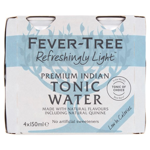Picture of Fever-Tree Refreshingly Light Premium Indian Tonic Water 4 x 150ml