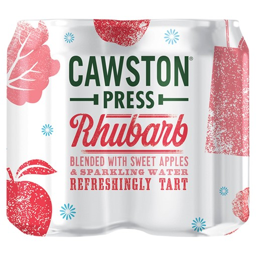 Picture of Cawston Press Sparkling Rhubarb 4 x 330ml