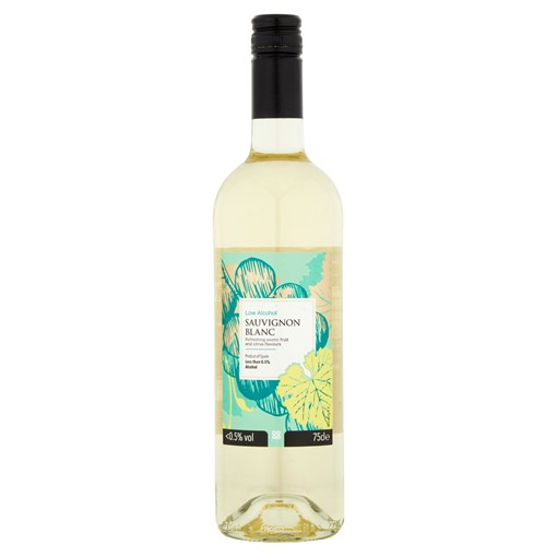 Picture of Co-op Low Alcohol Sauvignon Blanc 75cl