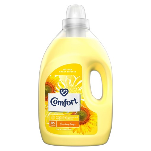 Picture of Comfort Sunshiny Days Fabric Conditioner 85 Wash 3 l