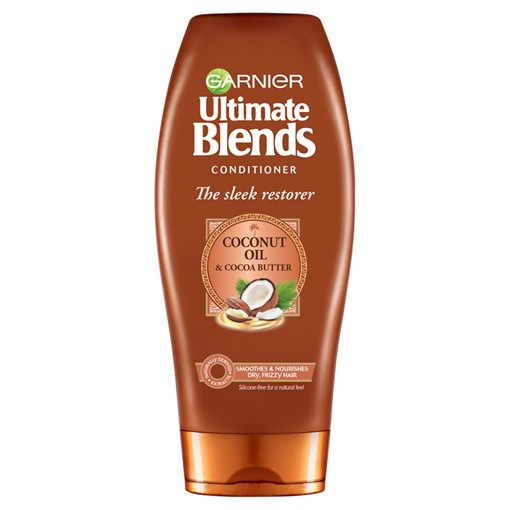 Picture of Garnier Ultimate Blends Coconut Oil & Cocoa Butter Conditioner for Curly Hair 360ml
