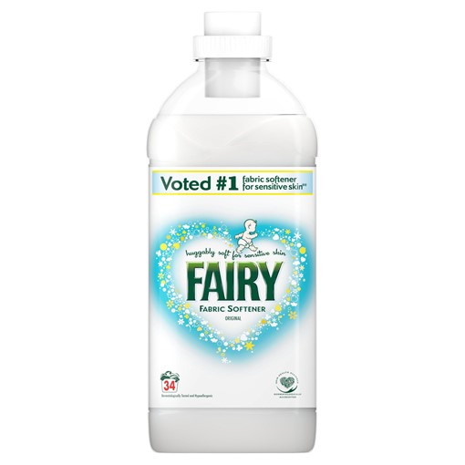 Picture of Fairy Fabric Conditioner Original 1.19L, 34 Washes