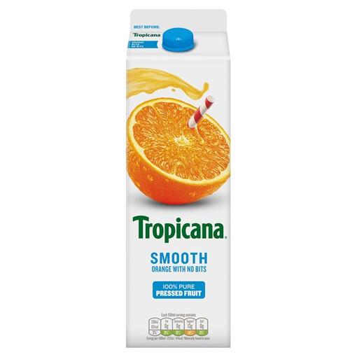 Picture of Tropicana Smooth Orange Juice 950ml