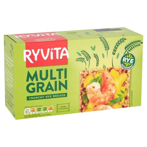 Picture of Ryvita Multi Grain Crunchy Rye Crispbreads 6 x 42g (250g)