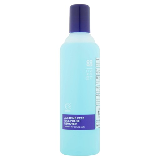 Picture of Co-op Nail Care Acetone Free Nail Polish Remover 250ml