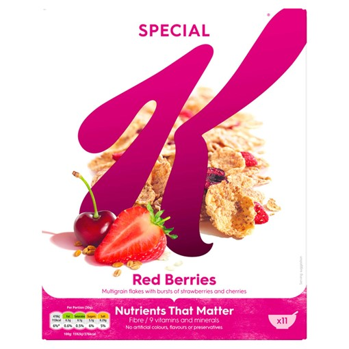 Picture of Kellogg's Special K Red Berries Cereal 360g