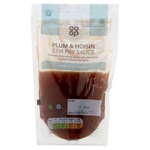 Picture of Co-op Plum & Hoisin Stir Fry Sauce 150g