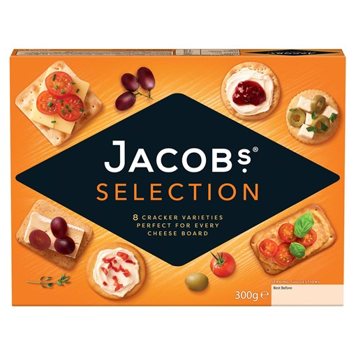 Picture of Jacobs Biscuits For Cheese Crackers 300g