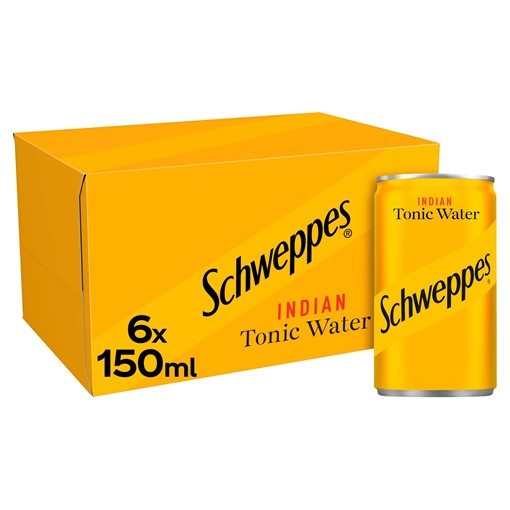 Picture of Schweppes Tonic Water 6 x 150ml