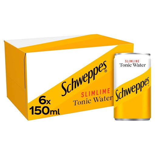 Picture of Schweppes Slimline Tonic Water 6 x 150ml