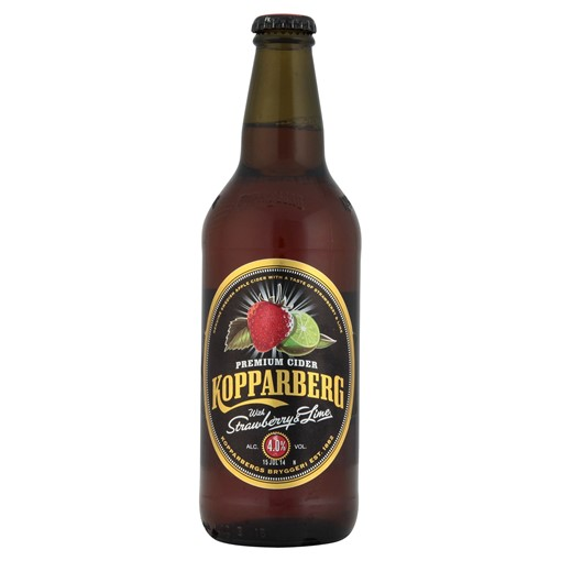 Picture of Kopparberg Premium Cider Strawberry & Lime 500ml