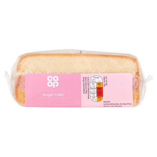 Picture of Co-op Angel Cake