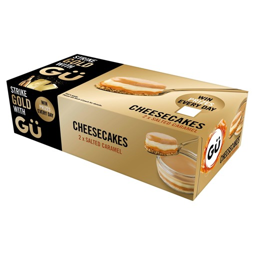 Picture of Gü Salted Caramel Cheesecakes 2 x 92g