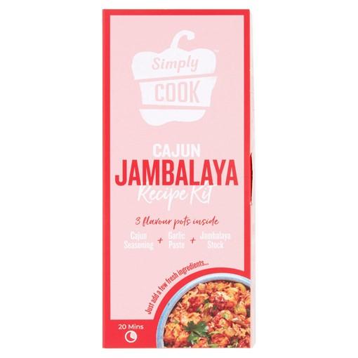 Picture of Simply Cook Cajun Jambalaya Recipe Kit 60g