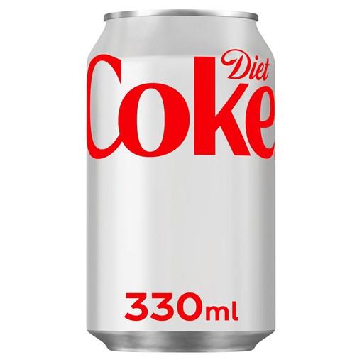 Picture of Diet Coke 330ml