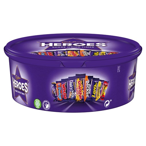 Picture of Cadbury Heroes Chocolate Tub 600g